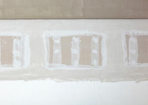Cloison en plâtre dans un appartement au Nord du Bas-Rhin